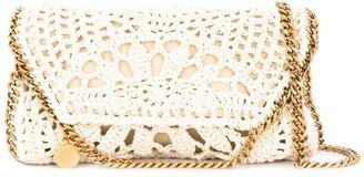 Stella McCartney mini Falabella crochet bag