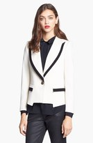 Rachel Zoe 'Foster' Peak Lapel Single Button Jacket
