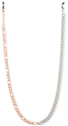 Frame Chain Mix It Up 18kt Rose-gold Plated Glasses Chain - Rose Gold