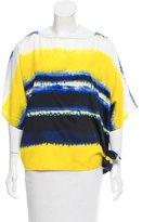 MICHAEL Michael Kors Tie-Dye Oversize Top