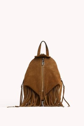 Rebecca Minkoff Convertible Mini Julian Backpack With Fringe
