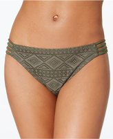 Hula Honey Crochet Strappy-Side Hipster Bikini Bottoms