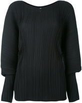 Jil Sander pleated blouse - women - Polyester - 34
