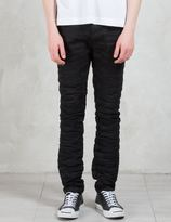 Diesel Black Gold Type-268 Rigid Black Japanese Denim 5 Pockets Jeans
