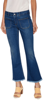 Stella McCartney Fading Cotton Flared Jean