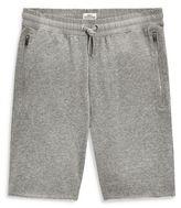 Next Light Grey Raw Hem Jersey Shorts