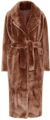 Common Leisure Love shearling coat
