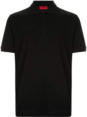 HUGO BOSS contrast logo polo shirt