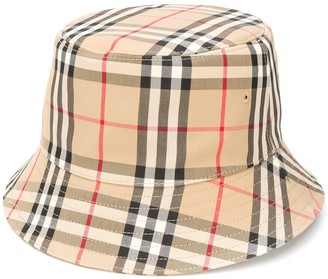 Burberry House Check bucket hat