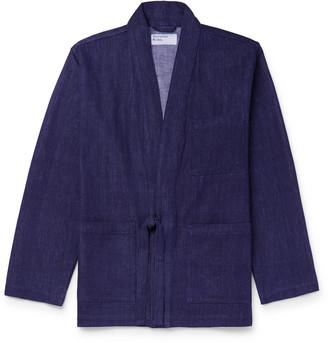 Universal Works Denim Kimono Jacket
