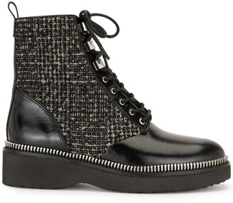 MICHAEL Michael Kors Haskell lace-up boots