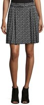 M Missoni Geometric Jacquard Pleated Skirt