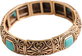 Barse FINE JEWELRY Art Smith by Turquoise Stretch Bangle
