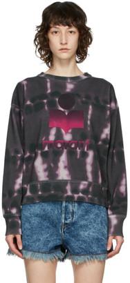 Etoile Isabel Marant Purple Tie-Dye Mobyli Sweatshirt