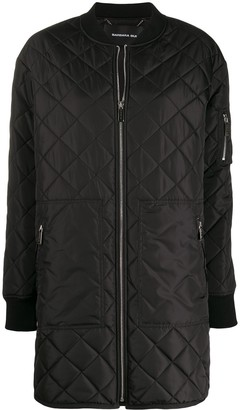 Barbara Bui Quilted Bomber Jacket