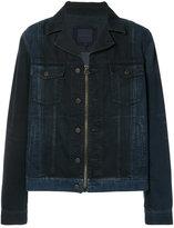 Lanvin paneled denim jacket