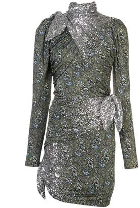 Altuzarra sequin embroidered Sharada dress