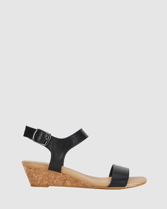Easy Steps - Women's Black Wedge Heels - Cable - Size One Size, 7.5 at The Iconic