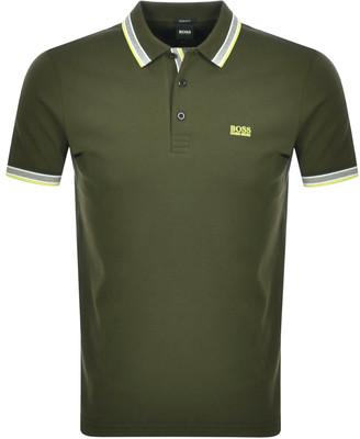 BOSS Athleisure Paddy Polo T Shirt Green
