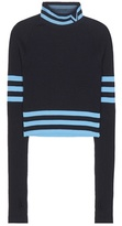 Versace Cropped Wool-blend Sweater