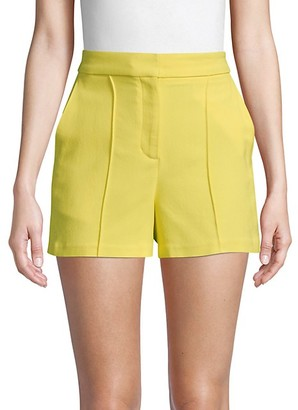A.L.C. Pleated Stretch Shorts