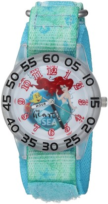 Disney Girls Princess Ariel Analog-Quartz Watch with Nylon Strap