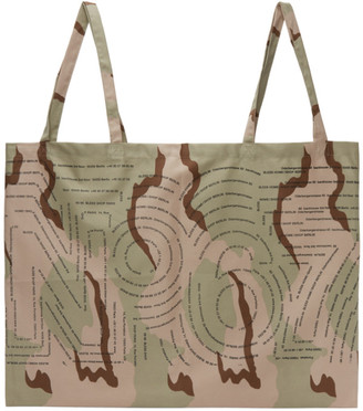 Bless Beige and Brown Camouflage Packaging System Tote