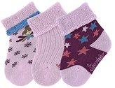 Sterntaler Baby Girls' Söckchen 3er Pack Elfe Socks,0