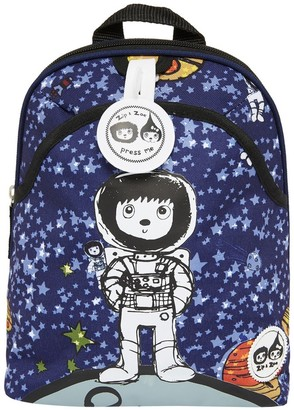 "Babymel Zip & Zoe Mini 10"" Kid' Backpack & afety Harne - paceman"