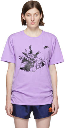Nike Erl ERL Purple Edition Witch T-Shirt