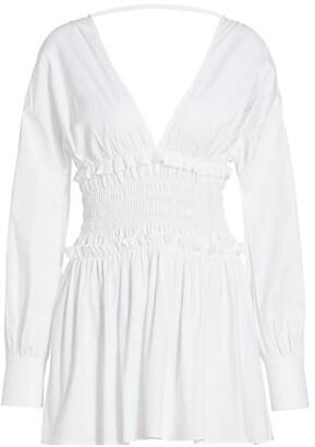 Ramy Brook Blythe Smocked Mini Dress