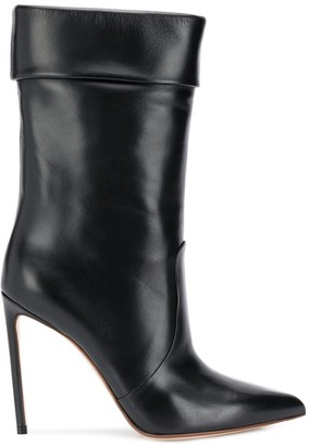 Francesco Russo Pointed Stiletto Boots