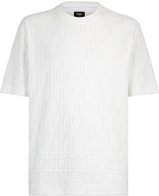 Fendi monogram cotton T-shirt