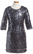 Menu Girl's Sequin Sheath Dress