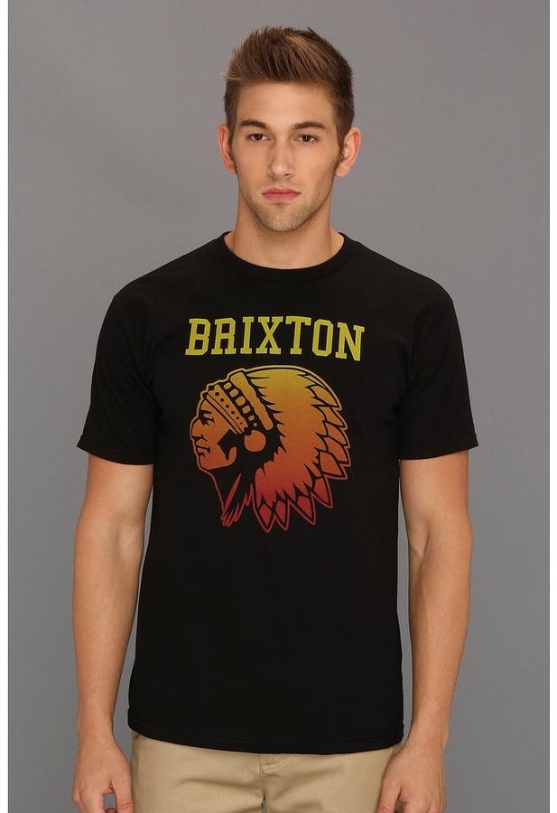 Brixton Anthem (Black) - Apparel