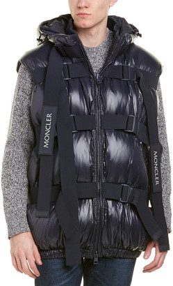 Moncler X Craig Green Buckle Strap Quilted Down Vest