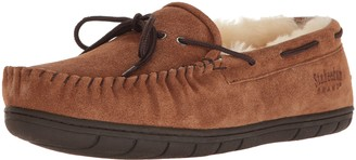 Staheekum Men's Plush Shearling Lined Slipper