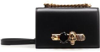 Alexander McQueen Mini Jewel Embellished Satchel
