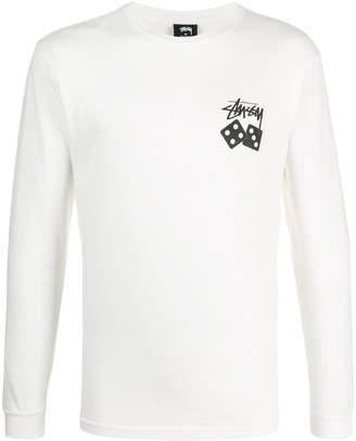 Stussy Dice print T-shirt