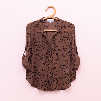 Bella Dahl Leopard Shirt - xs | brown - Brown/Brown