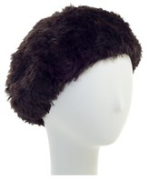 Surell Sheared Rabbit Knitted Beret.