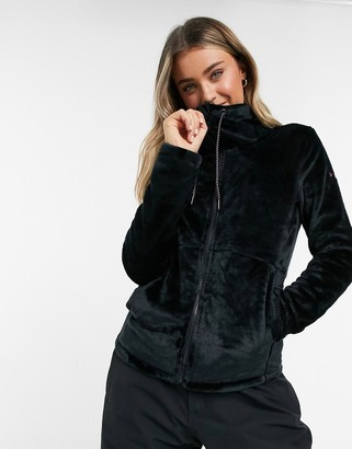 Roxy Tundra fleece in black