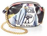 Love Moschino Printed Round Crossbody Bag