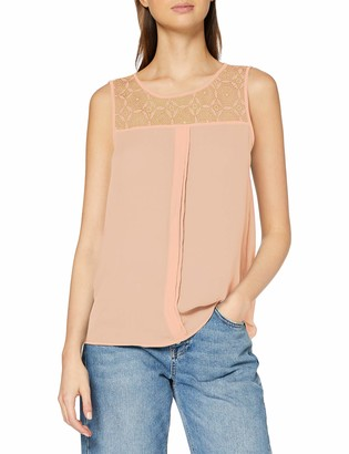Only Women's Onlvenice S/L Lace Noos Wvn Top