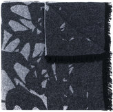 McQ by Alexander McQueen swallow print scarf - men - Polyamide/Wool - One Size