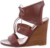 Derek Lam Perforated Lace-Up Wedges