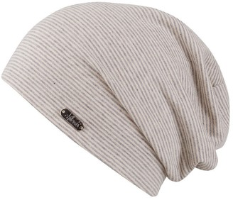 Pittsburgh Oversize Beanie Chillouts Long Beanie DamenmAtze (One Size - beige)