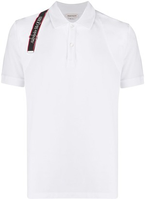 Alexander McQueen Logo Strap Polo Shirt