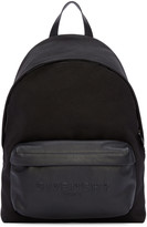Givenchy Black Canvas & Leather Backpack