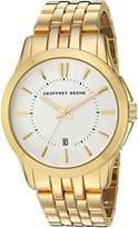 Geoffrey Beene Men's Quartz Metal and Alloy Dress Watch, Color:Gold-Toned (Model: GB8069GD)